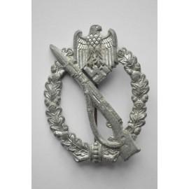 IAB Infantry Assault Badge, zinc, marked GWL