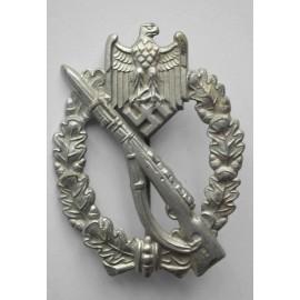 IAB Infantry Assault Badge, zinc, by Wiedmann