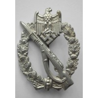 IAB Infantry Assault Badge, zinc, by Wiedmann