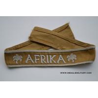 An Afrika Campaign Cufftitle.