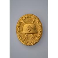 GOLD WOUND BADGE MAKER DESCHLER / WIEDMANN.