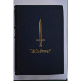 Germany, Third Reich. A Rare 1939 Mein Kampf Jubilee Edition