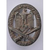 General Assault Badge marked W by Karl Wurster K.G. Markneukirchen.