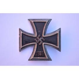 Iron Cross First Class 1939 by Klein & Quenzer, Idar-Oberstein.