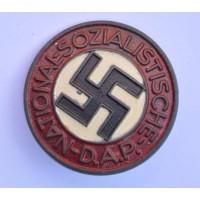 NSDAP Party Badge marked RZM M1/103 maker Carl Poellath, Schrobenhausen.