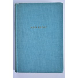 "PERIOD BOOK: ""MEIN KAMPF"" BY ADOLF HITLER, 1943 POCKET BLUE EDITION"