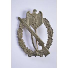 IAB Infantry Assault Badge, zinc, maker Paul Meybauer