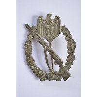 IAB Infantry Assault Badge, zinc, maker Deschler & Sohn, München