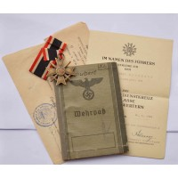 Grouping Documents originating from the German soldier II war Unterofizier 2./Lds. Schtz. Btl. 576