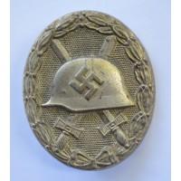 Wound Badge Silver marked 92 maker Josef Rückert & Sohn, Gablonz.