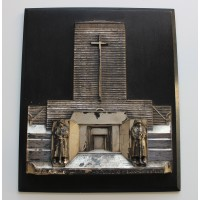 A One Of A Kind Plaque Featuring the Tannenberg Memorial.