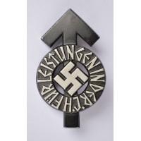 An HJ Proficiency Badge, Black Grade.