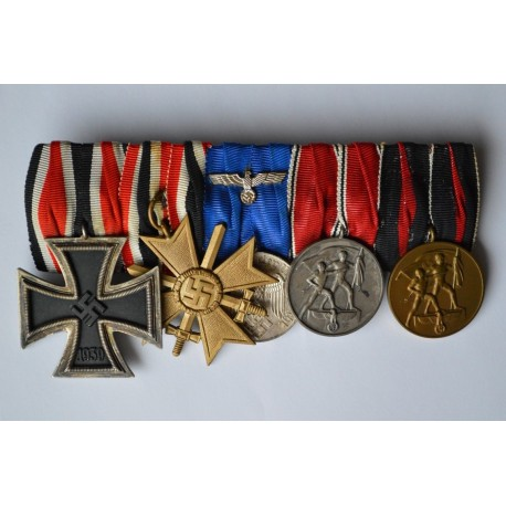 Five Medals Bar WWII