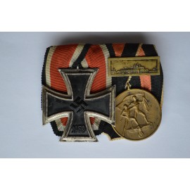 Two Medals Bar WWII