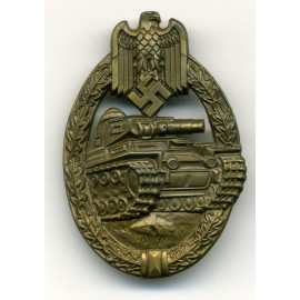 TANK BADGE - BRONZE GRADE BY Hermann Wernstein