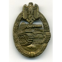 TANK BADGE - BRONZE GRADE BY WIEDMANN