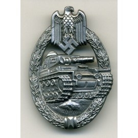 TANK BADGE BY WIEDMANN - SILVER GRADE