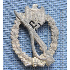 "Infantry Badge Silver by GWL - ""cut-out"" swas"