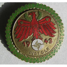 Shooting Award GOLD PISTOLE 1943