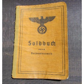 Soldbuch Soldier