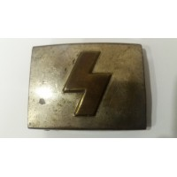 A German Youth Belt Buckle marked RZM U.E. 72 maker Paul Cramer & Co.