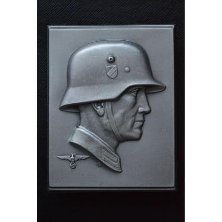 A Second War German Heer (Army) Plaque