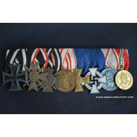 A First War and Second war Medals Bar Army Group of eight.