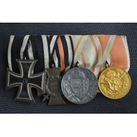 WWI Medals Bar Group of Four.
