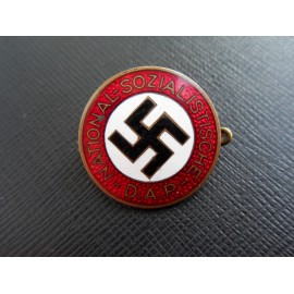 NSDAP Party Badge marked RZM 44 C. Dinsel , Berlin.