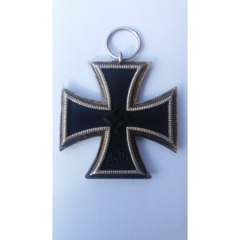 Iron Cross Second Class unmarked maker Godet, very rare.